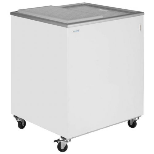 Tefcold IC200SC Sliding Flat Glass Lid Chest Freezer